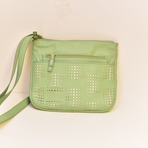 Fossil Mint Green Crossbody Purse